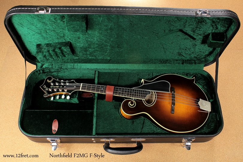 Northfield F-Style F2MG Mandolin full front view