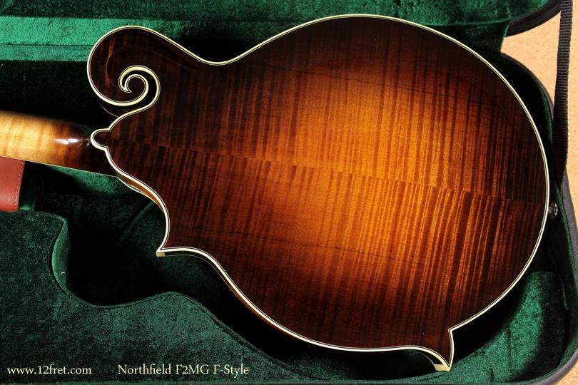 Northfield F-Style F2MG Mandolin back