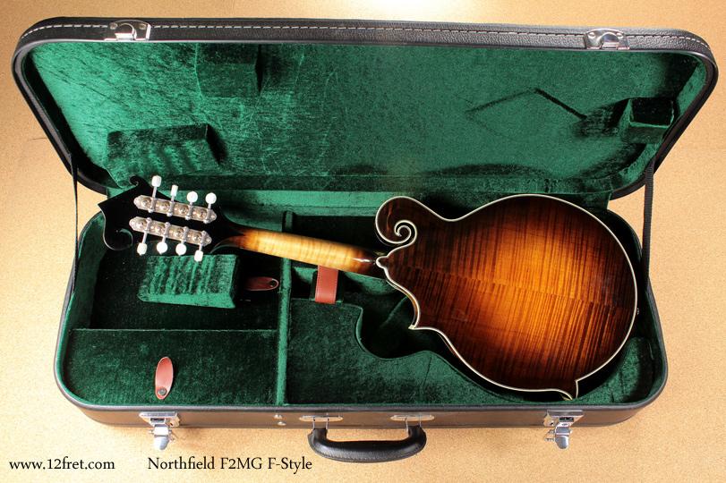 Northfield F-Style F2MG Mandolin full rear view