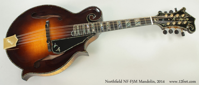 Northfield NF-F5M Mandolin, 2014 Full Front View