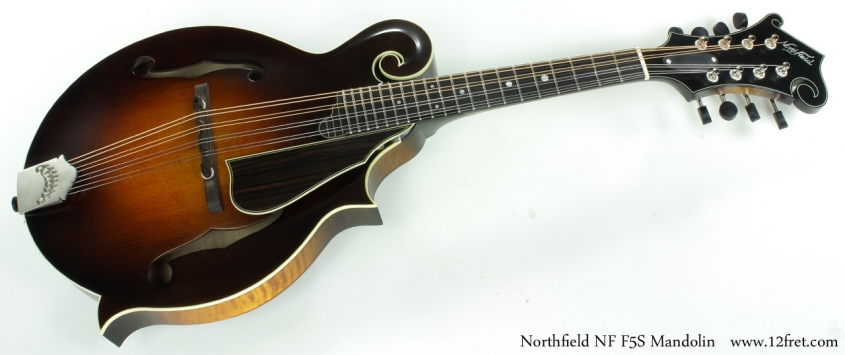 Northfield NF F5S Mandolin full front view