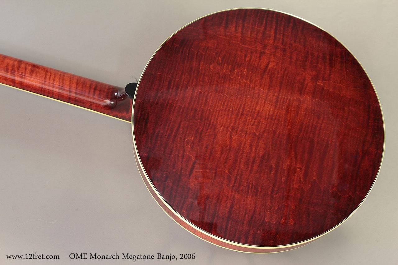 OME Monarch Megatone Banjo, 2006 Back