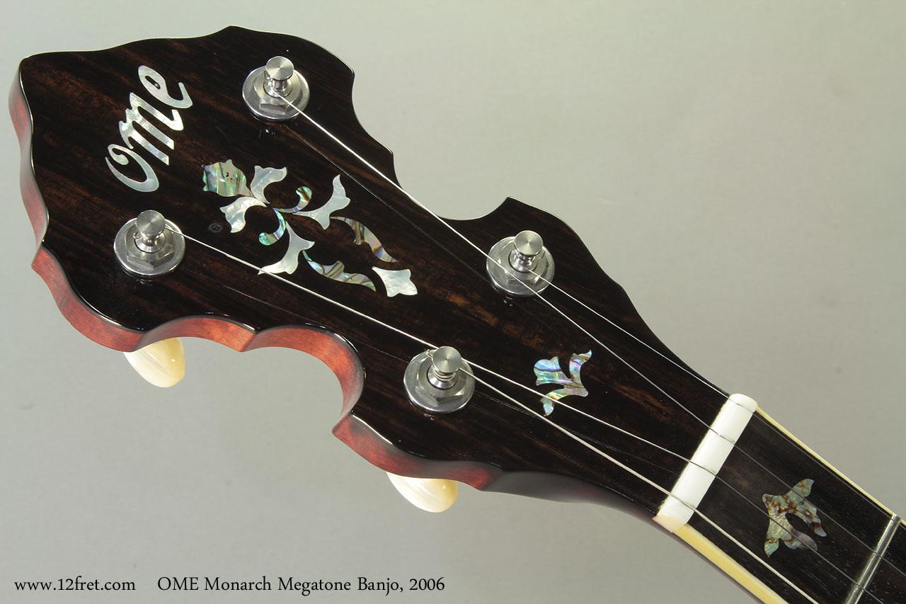 OME Monarch Megatone Banjo, 2006 Head Front