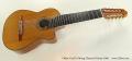 Oskar Graf 10 String Classical Guitar 2006 Full Front View