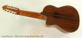 Oskar Graf 10 String Classical Guitar 2006 Full Rear View