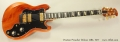 Ovation Preacher Deluxe 1282, 1977 Full Front View