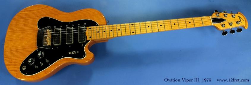Ovation Viper III 1979 full front