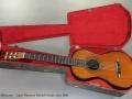 Louis Panormo School Guitar circa 1830 case open