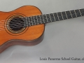 Louis Panormo School Guitar circa 1830 full front view