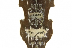 Paramount Leader Tenor Banjo, 1924  Head Front View