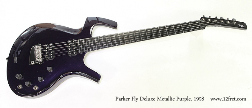 Parker Fly Deluxe Metallic Purple, 1998 Full Front View