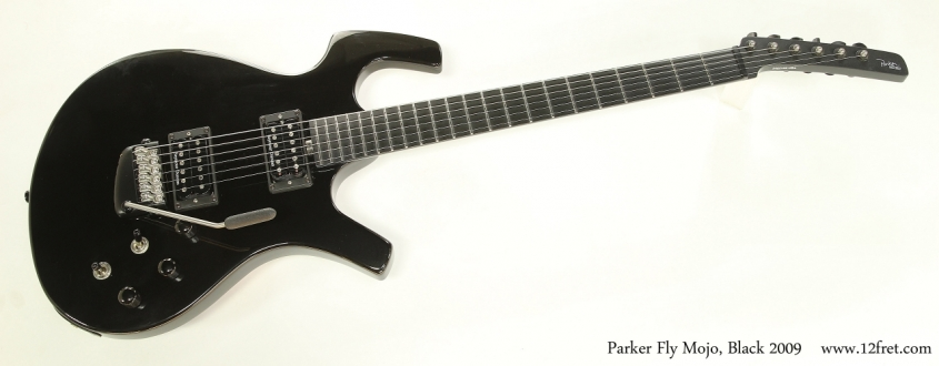 Parker Fly Mojo Solidbody Electric Black, 2009  Full Front View