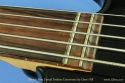 Partial Fretless Bass Conversion end of fingerboard