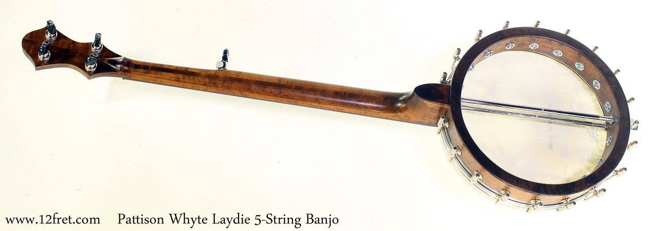 Pattison Whyte Laydie 5-String Banjo Full Rear View