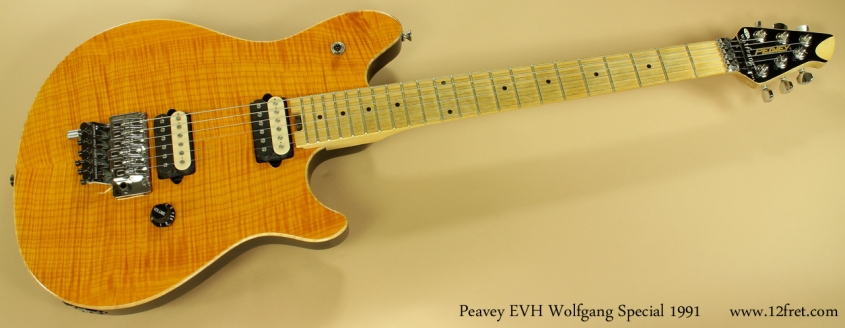 Peavey EVH Wolfgang Special 1991 full front view