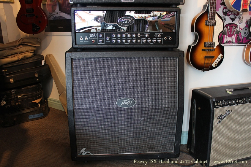 Peavey JSX Head and 4x12 Cabinet Full Front View