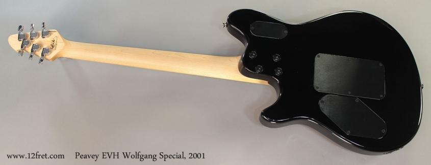 Peavey EVH Wolfgang Special, 2001 Full Rear View