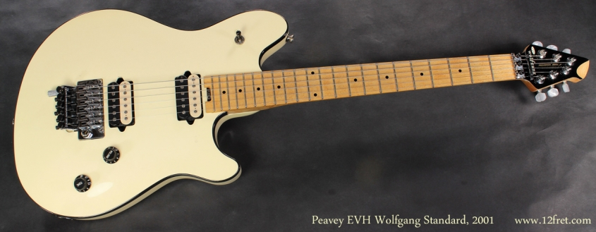 Peavey EVH Wolfgang White 2001 full front view