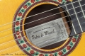 Pedro de Miguel Flamenco Negra, 2005 Label