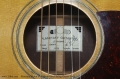 Planetary Guitar Co.  Alamo Steel String Guitar, 2003 Label