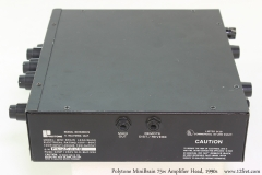 Polytone MiniBrain 75w Amplifier Head, 1990s Handle Side View