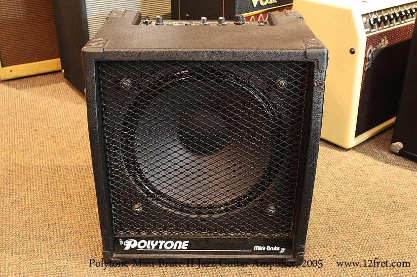 Polytone Mini-Brute II Jazz Guitar Amplifier, 2005 Full Front View
