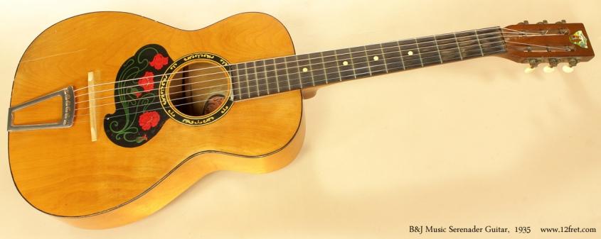 Project Instruments - B&J Serenader 1935