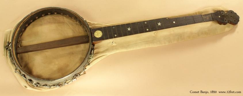 Project Instruments - Comet Banjo 1890