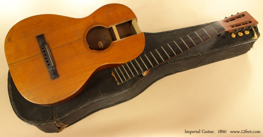 Project Instruments - Imperial Guitar 1890