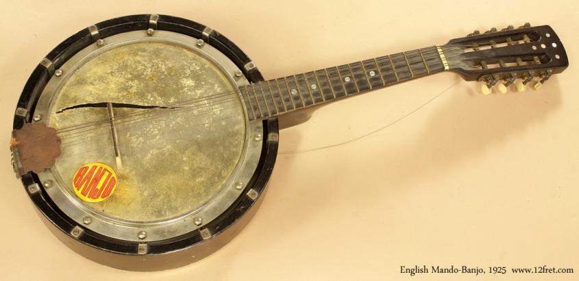 Project Instruments - English Mando Banjo 1925