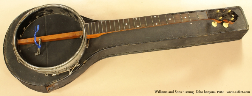 Project Instruments - Williams and Sons Echo Banjo 1900