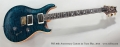 PRS 30th Anniversary Custom 24 Trans Blue, 2015 Full Front View
