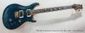 PRS 30th Anniversary Custom 24 Trans Blue, 2015 Full Front View