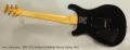 PRS CE22 Sunburst Solidbody Electric Guitar, 2003 Full Rear View