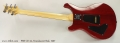 PRS CE 24, Translucent Red, 1997 Full Rear View