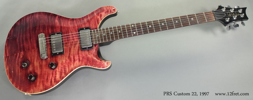 PRS Custom 22 1997 full front view