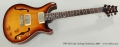 PRS McCarty Archtop Sunburst, 2009 Full Front View