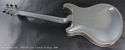 PRS McCarty Silver Sparkle Archtop 2008 full rear view