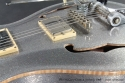 PRS McCarty Silver Sparkle Archtop 2008 top detail