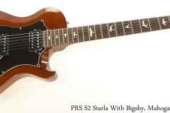 PRS S2 Starla With Bigsby, Mahogany 2014 Full Front View