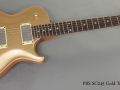 PRS SC245 Gold Top 1997 full front view