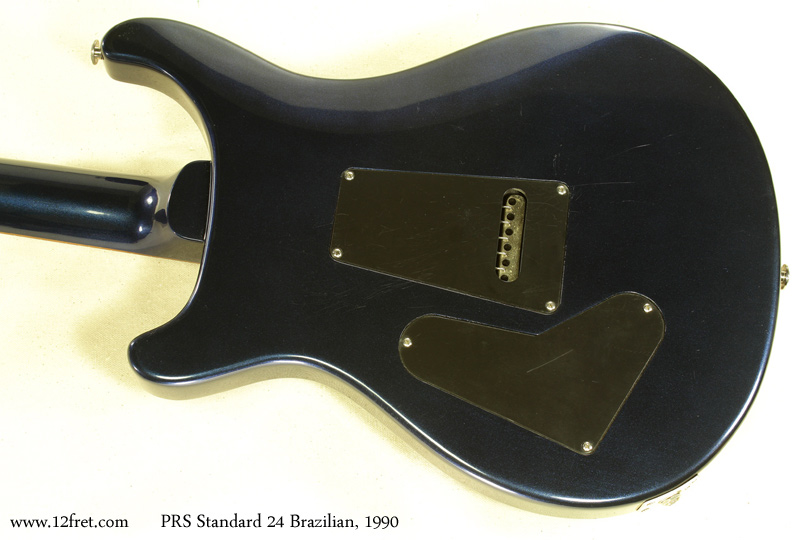 PRS Standard 24 Brazilian 1990 back