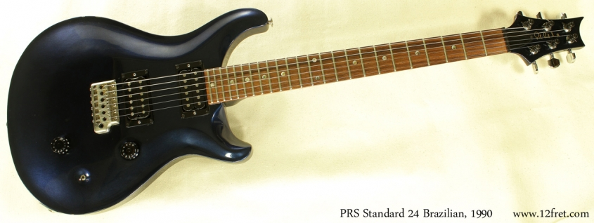 PRS Standard 24 Brazilian 1990 full front view