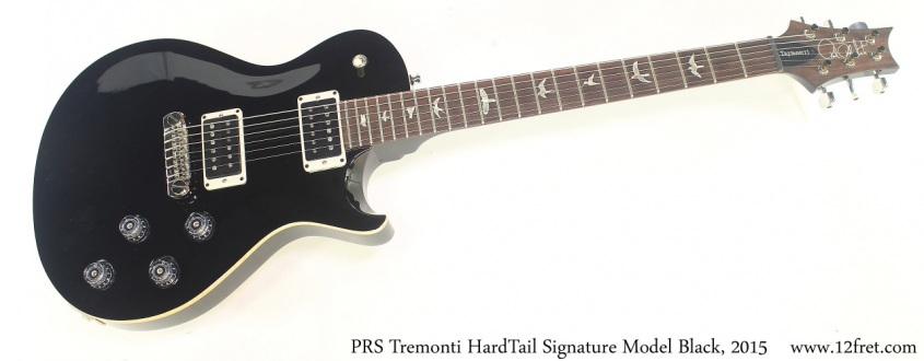 PRS Tremonti HardTail Signature Model Black, 2015 Full Front View