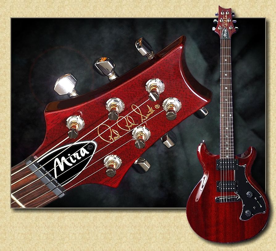 """d4c05d61a00ace Paul Reed Smith Mira SOLD. PRS Mira guitar. The PRS Mira model is a 24-fret  guitar that features a 25"""" scale length"""
