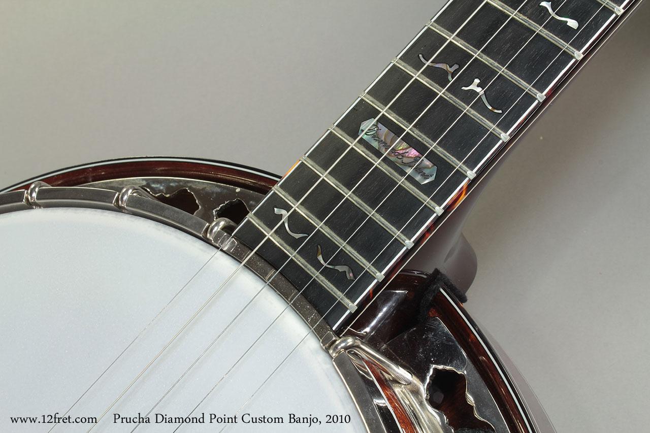 Prucha Diamond Point Custom Banjo 2010 Inlay