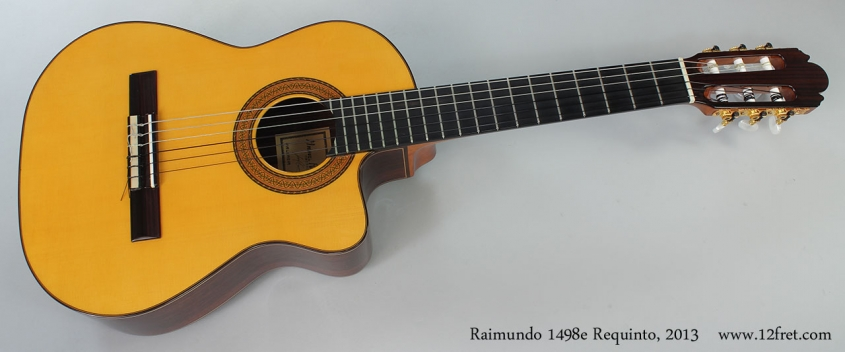 Raimundo 1498e Requinto, 2013 Full Front View