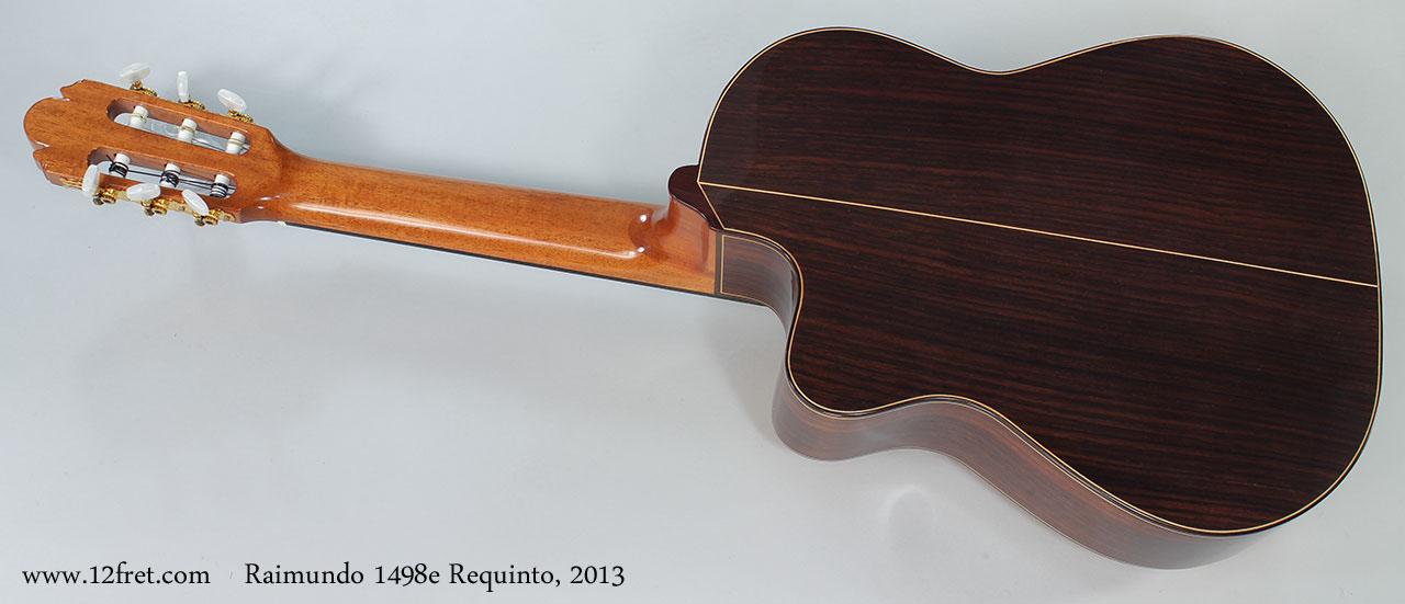 Raimundo 1498e Requinto, 2013 Full Rear VIew