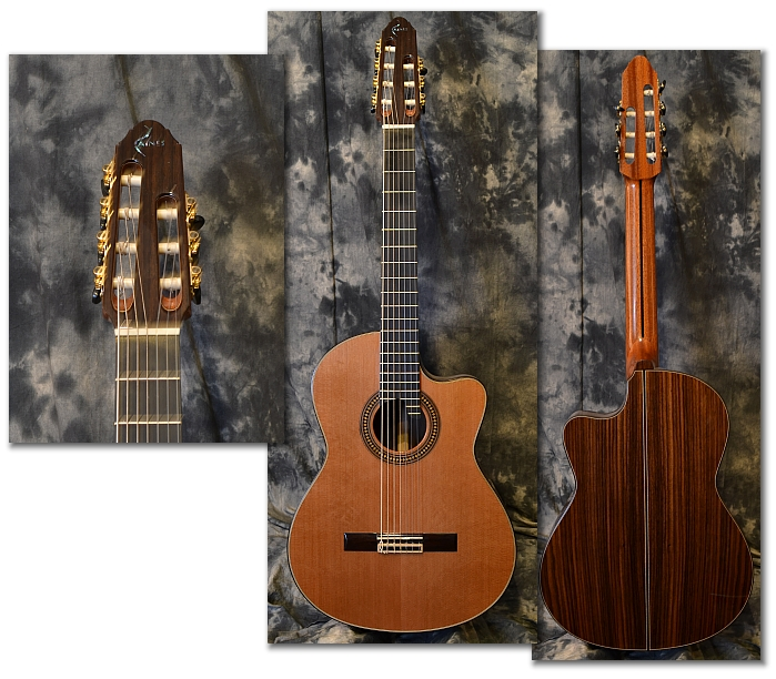 raines master series 7 string classical guitars. Black Bedroom Furniture Sets. Home Design Ideas