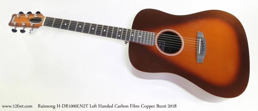 Rainsong H-DR1000LN2T Left Handed Carbon Fibre Copper Burst 2018  Full Front View